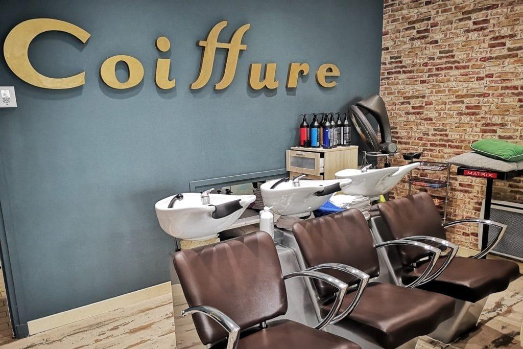 salon de coiffure ett coiffeur